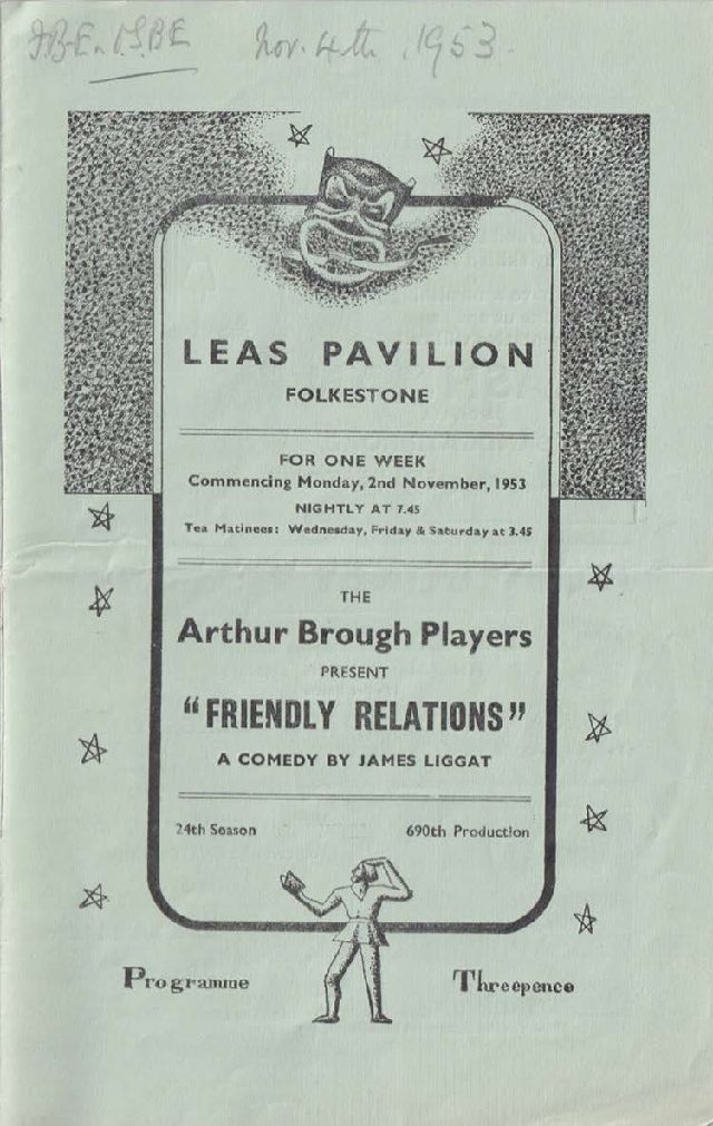 Programme for 'Friendly Relations'