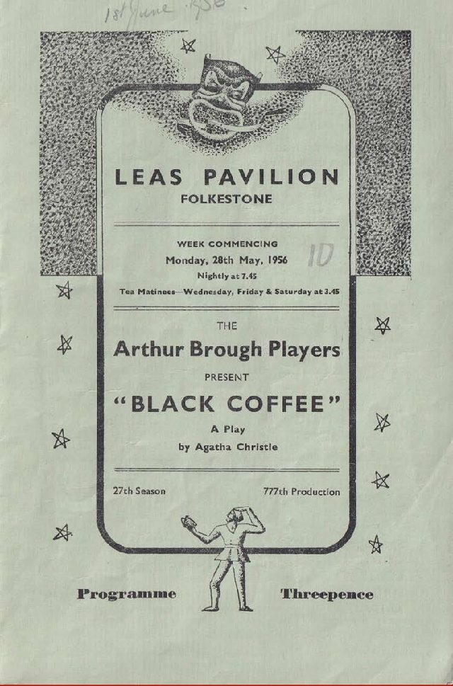 Programme for 'Black Coffee'