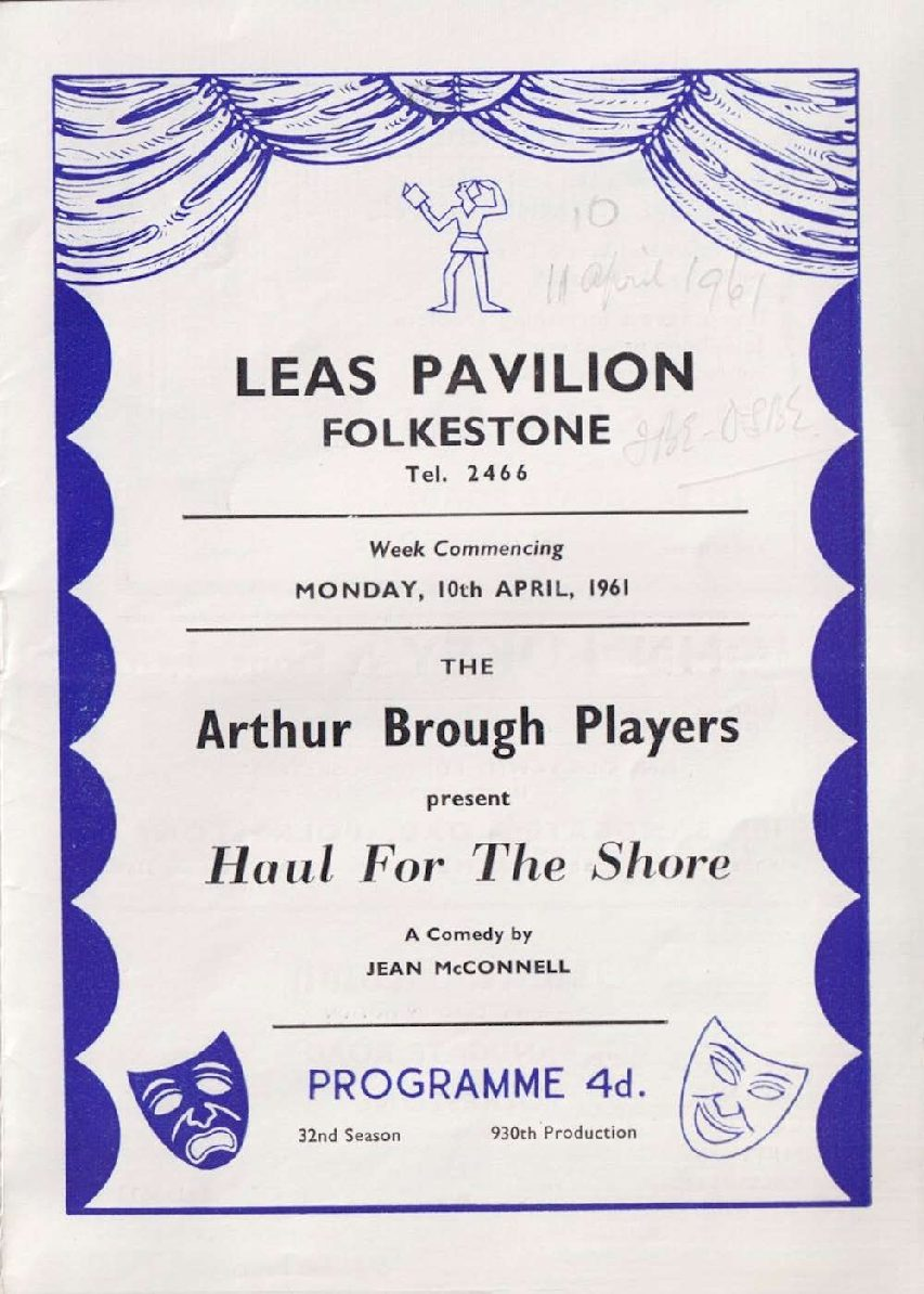 Programme for 'Haul for the Shore'
