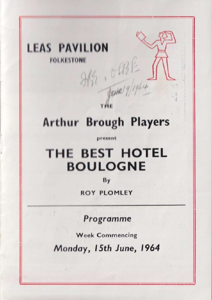 Programme for 'The Best Hotel in Boulogne'