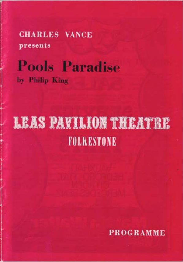 Programme for 'Pools Paradise'