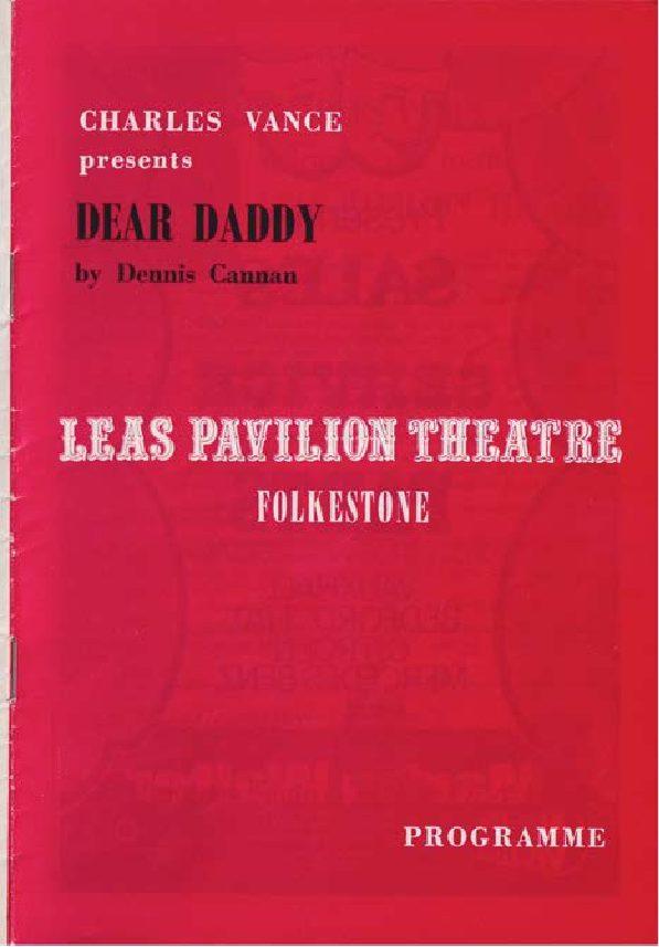 Programme for 'Dear Daddy'