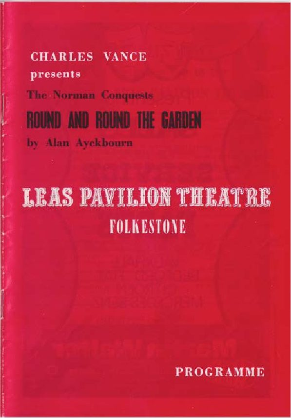 Programme for 'Round and Round the Garden'