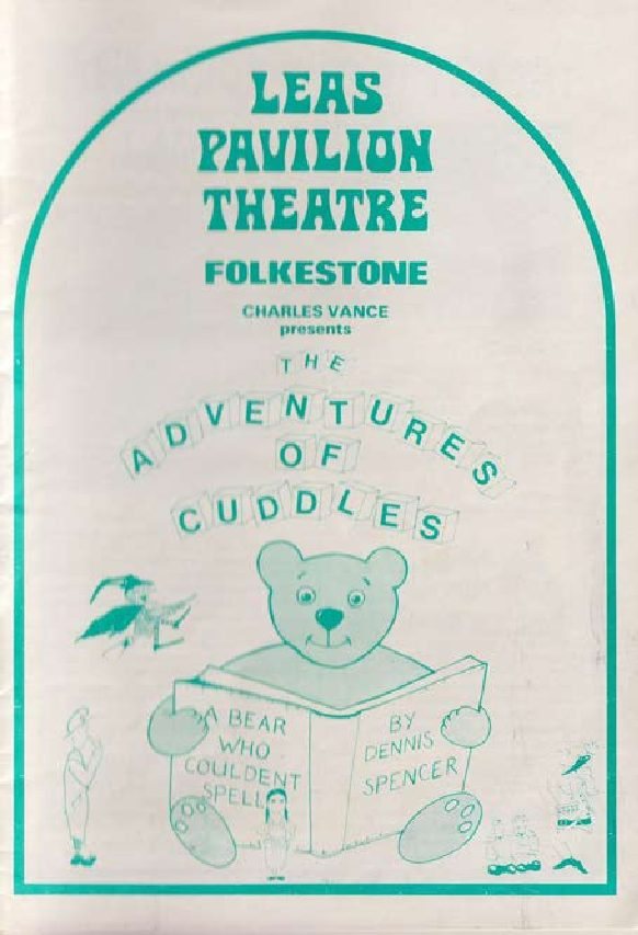 Programmefor 'The Adventures of Cuddles A Bear Who Couldent Spell'