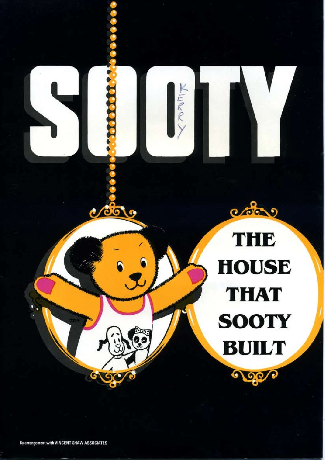 Programme for 'The House that Sooty Built'