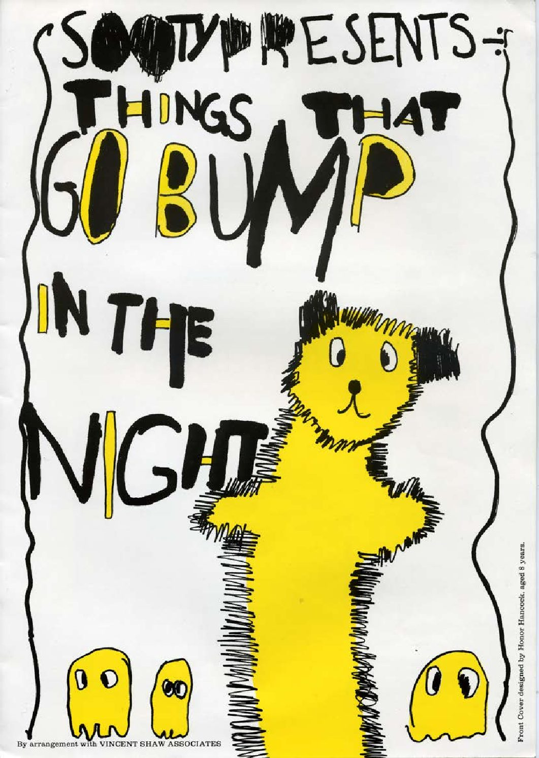 Programme for 'Sooty Presents 'Things that go Bump in the Night'