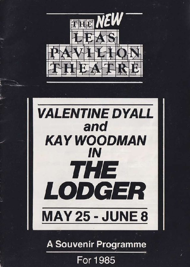 Programme for 'The Lodger'