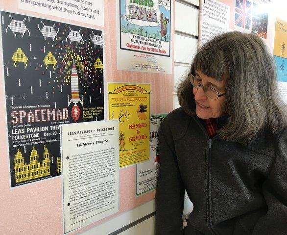 Barbara Woodhams (nee Moore) recalls memories of the Children's Theatre