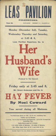 Her Husband's Wife & Hay Fever