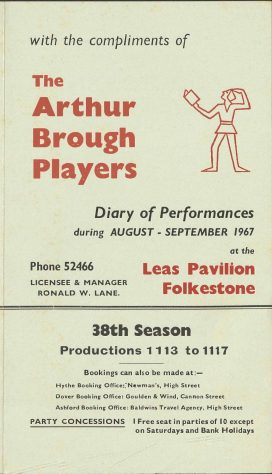 Diary of Performances 38th Season