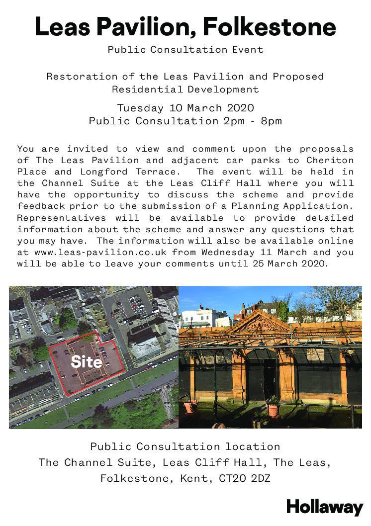 Public Consultation on latest plans